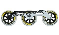Rollerblade Set 125mm (Frame/Rollen/Lager)